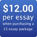 TOEFL writing corrected for $2.67 an essay